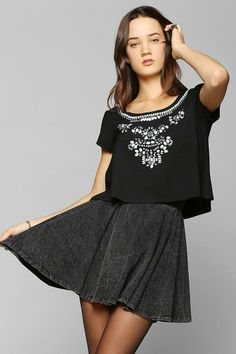 Cooperative Go Go Sparkle Top #urbanoutfitters