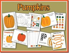 Pumpkins Unit from A Teaching Mommy