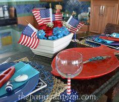 patriotic table for 2 thepaintedapron.com