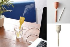 USB Tulip Stick Ultrasonic Humidifier | Well Done Stuff | Home,Kitchen,Tech,Gadgets,Holiday,Funny,Interesting Structures and many more.