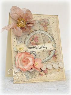 EwenStyle: Featured Stamper...A Shabby Birthday