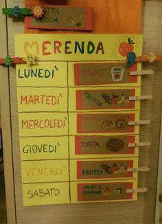 calendario merende scolastiche