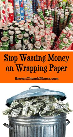 Never buy wrapping paper again! Sew this easy drawstring gift bag and save time, money, and the environment. Great use for fabric scraps or fat quarters.