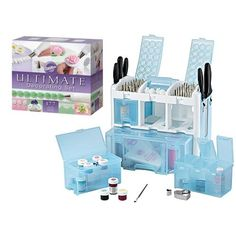 WILTON ULTIMATE CAKE DECORATING COMPLETE TOOL CADDY SET KIT BOX ,,,,, #1. Wishlist......