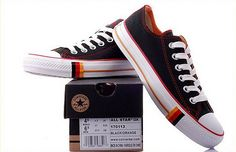Converse All Star Black Lowcut German Flag -  Come to Mama!!!