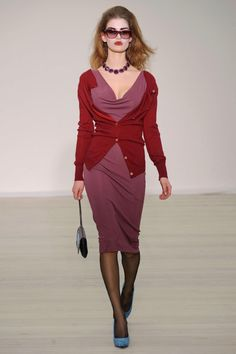 Vivienne Westwood Red Label FW 2013/ Purple