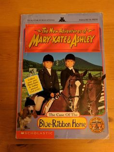 The New Adventures of Mary Kate and Ashley: The Case of the Blue Ribbon Horse | Books, Children & Young Adults, Other Children & Young Adults | eBay!