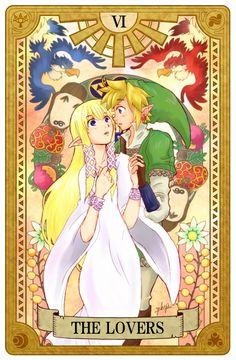 Legend of Zelda, Tarot artwork by 空谷 (Kuukoku)