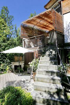 Pergola bois-Wood architecture by Buildings & Love Architecture- Grenoble & Paris.