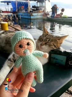 Amigurumi cute baby Pattern @hobikitty
