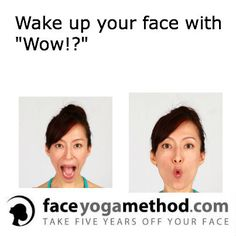 Wake up your face with Wow Face Lift Exercises, Neck Exercises, Facial Exercises, Facial Yoga, Beauty Stuff, Beauty Tips, Beauty Products, Yoga Lifestyle, Fitspiration