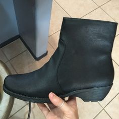Aerosoles black wedge ankle boots Brand new aerosoles black wedge ankle booties! AEROSOLES Shoes Ankle Boots & Booties