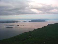 Orcas Island  view from Mt. Constitution