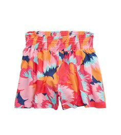 Aerie Printed Short, Barbados Blue | Aerie for American Eagle