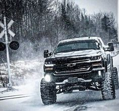 #chevy #snow More