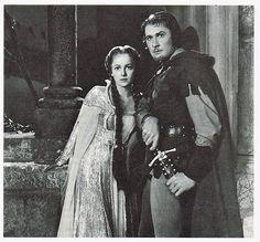The Adventures of Robin Hood, 1938. Errol and Olivia.