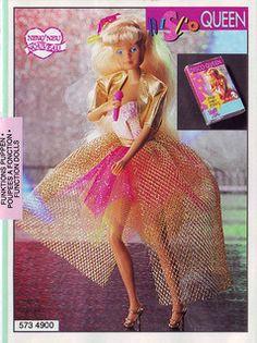 Disco Queen singing doll. 1994 Steffi Love Catalogue 5   Flickr - Photo Sharing!