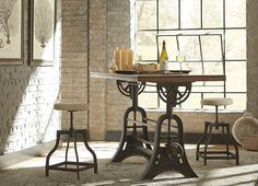 Attractive Home Offices, River City Drafting Table, Home Offices | Havertys Furniture