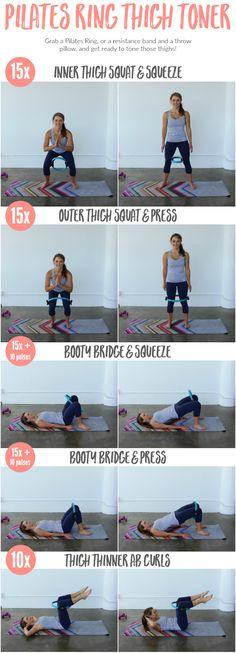 Pilates Ring Thigh Toner