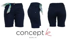 CONCEPT K cotton bermuda #shorts, back and front pockets. Printed bandanna on belt loop. SHOP ONLINE at www.rosapiuma.com! Sign up and enjoy € 5 off your first order! #casual #shoppingonline   #womensfashion   #ss2014