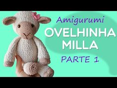 Amigurumi Bear Th o Part 3 Step by Step by Gl Crochet Bear, Crochet Home, Amigurumi Toys, Amigurumi Patterns, Knitted Dolls, Crochet Dolls, Amigurumi For Beginners, Knitting Videos, Little Puppies