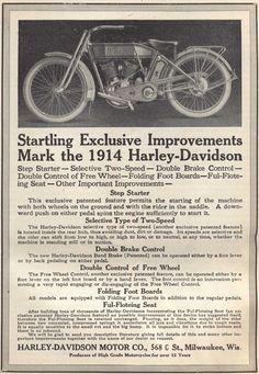Harley-Davidson Motorcycle 1914