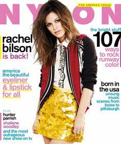 Rachel Bilson for NYLON