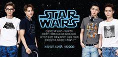 Chanyeol, Kai, Sehun, Suho - 150522 SPAO website update - [HQ] Credit: SPAO.
