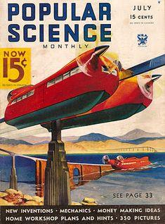 Amphibian monorail (1934)