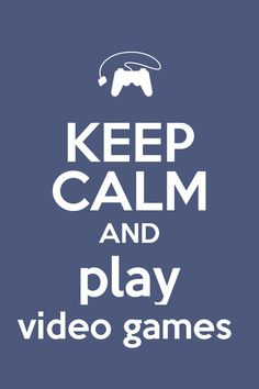 Playing video games is going to make me stress free by focusing my mind on something else.