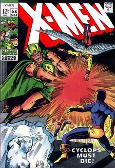 Cover for The X-Men (Marvel, 1963 series) #54