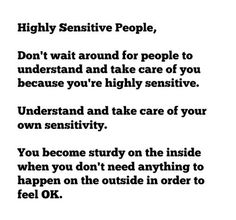 An Open Letter to Highly Sensitive People | Sensitive New World