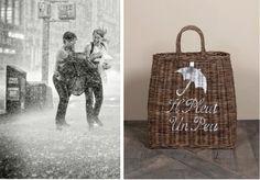 Riviera Maison basket for umbrella
