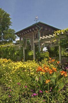 Jardin Botanico de Montreal. Carlos R. Martinez, Arquitecto Paisajista.