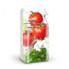 Fotomural con tomates para nevera
