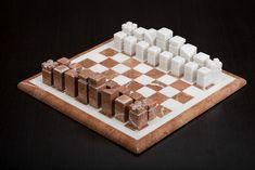 Marble Stone Handmade Chess Set And Board Marble Stones, Chess, Boards, Handmade, Gingham, Planks, Hand Made, Handarbeit