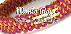 (sw302)Manta Ray Paracord Projects, Paracord Ideas, Color Explosion, Swiss Paracord, Manta Ray, Fabric Jewelry, Mini, Knots, Diy And Crafts