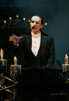Richard Todd Adam as The Phantom.  He was the first Phantom I saw live and because of that he will always have a special place in my heart.  He was sublime