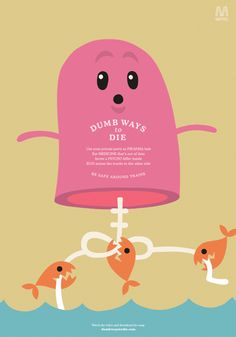 McCann's - Dumb Ways to Die ad campaign for Metro Trains