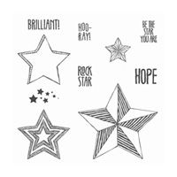 Be the Star Wood-Mount Stamp Set by Stampin' Up!
