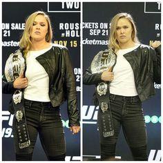 The reason women fight in the ufc She deserve all the respect in the world # rousey Randa Rousey, Rowdy Ronda, Ufc Women, Mma Fighting, Woman Warrior, Total Divas, Badass Women, Wwe Wrestlers, Wwe Divas