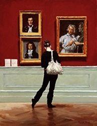 "Pauline Roche (English/Australian/American) ""Sidestep at the Portraits"""