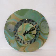 The Magical Animal - DEBORAH DICKINSON Mint Marble Triple Wall Clock, $45.00 (http://www.themagicalanimal.net/products/deborah-dickinson-mint-marble-triple-wall-clock.html)