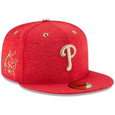 the latest 7a006 72ef4 Philadelphia Phillies New Era 2017 MLB All-Star Game Side Patch 59FIFTY  Fitted Hat - Heathered Red