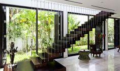 desain tangga gantung