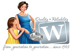 Wear-Ever Aluminum Cookware Brand History...from generation to generation since 1903.