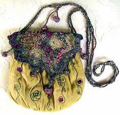 Machine Embroidered Bag