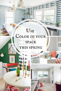 Use Color in yourspacethis spring