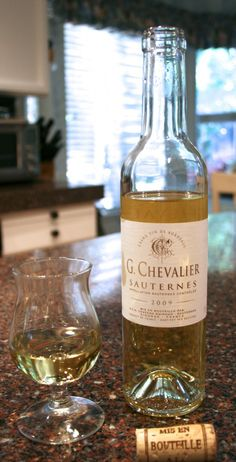 A light dessert wine will sometimes be a nice change from the typical or tradition desserts we often enjoy. Enter G Chevalier Sauternes 2009.