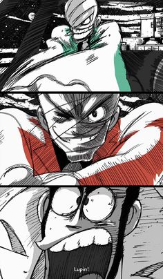 """From """"Lupin Sansei: Green vs Red"""" anime"""